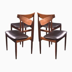 Dining Chairs by Ib Kofod-Larsen for G-Plan,1960s, Set of 4