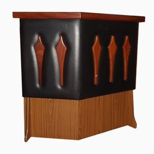 Mid-Century French Rosewood Bar, 1960s
