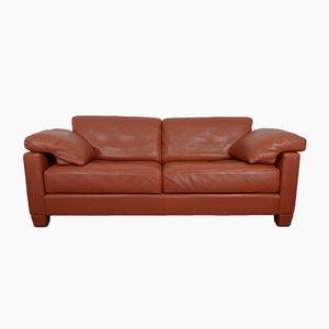 Cognac Leather DS-17 Sofa from de Sede, 1990s