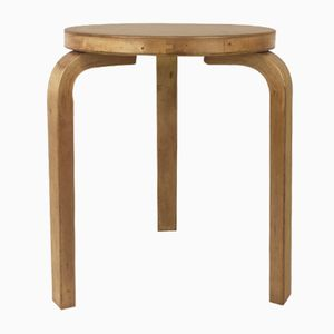 Vintage Model 60 Stool by Alvar Aalto for Finmar