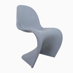 Grey Panton Chair Classic by Verner Panton for Vitra, 1998