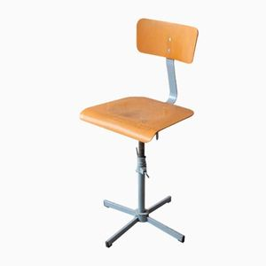 Vintage Industrial Swivel Desk Chair, 1970s