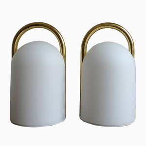Tender Table Lamps by Romolo Lanciani for Tronconi, 1980s, Set of 2