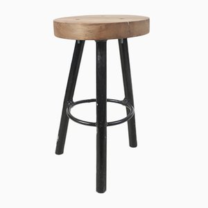 Small Vintage Wooden Stool