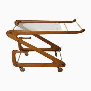 Mid-Century Bar Cart by Cesare Lacca for Cassina, 1950s