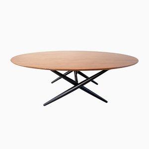 Early Ovalette Coffee Table by Ilmari Tapiovaara for Asko Oy Lahti, 1953