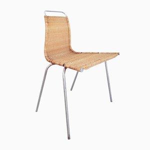 Dänischer Vintage PK1 Beistellstuhl von Poul Kjaerholm für E. Kold Christensen