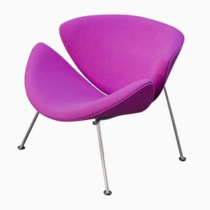 Orange Slice Chair in Violet by Pierre Paulin for Artifort, 1970s
