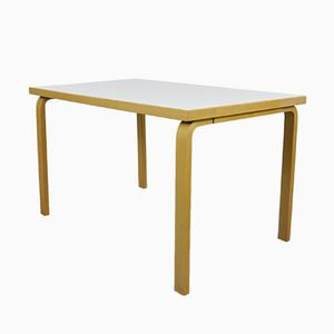 Vintage Model 81B Dining Table by Alvar Aalto for Artek