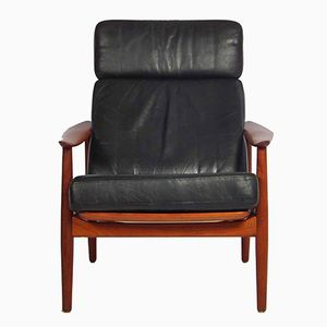 FD 164 Lounge Chair by Arne Vodder for France & Søn, 1960s