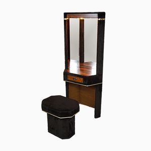 Vintage Space Age Dressing Table & Stool