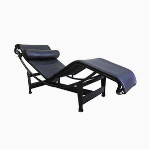 Chaise longue LC4 vintage di Le Corbusier per Cassina, anni '80
