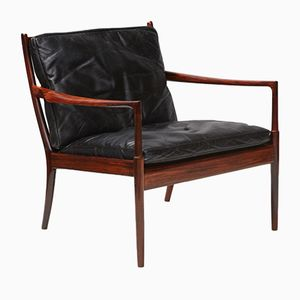 Samso Chair in Rosewood by Ib Kofod-Larsen for Olof Perssons Fatoljindustri, 1960s