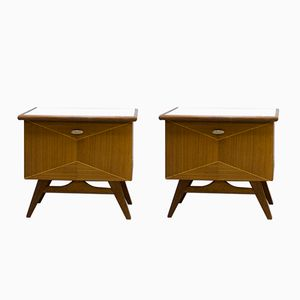 Danish Nightstands, 1960s, Set of 2