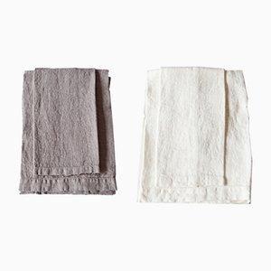 Leinen Badetücher von Once Milano, 2er Set