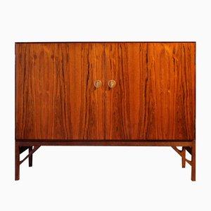 Vintage Danish Palisander Sideboard with 2 Doors by Børge Mogensen for FDB