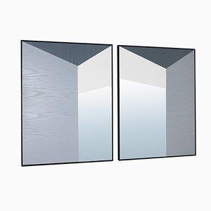 Specchi Perspective di Marco Caliandro, set di 2