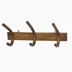 Vintage Three-Hooked Coat Hanging Rack