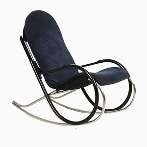 Rocking Chair Nonna Vintage par Paul Tuttle pour Strässle