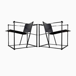 FM61 Chairs by Radboud Van Beekum for Pastoe, 1980s, Set of 2