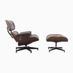 Lounge Chair & Ottoman by Charles & Ray Eames for Herman Miller, 1970s