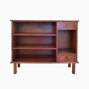Small French Oak Bookcase, 1950s