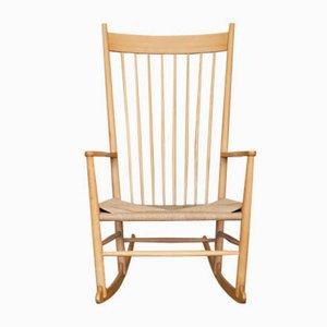 Rocking Chair J16 par Hans J. Wegner pour Fredericia, 1960s