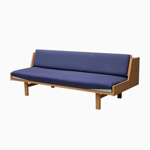 Vintage GE-258 Daybed by Hans J. Wegner for Getama