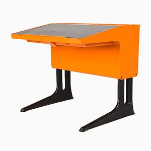 Vintage Desk by Luigi Colani for Flötotto