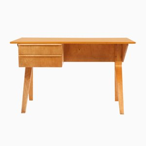 EB02 Birch Series Desk by Cees Braakman for UMS Pastoe, 1952