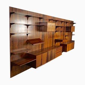 Libreria Royal System in palissandro brasiliano di Poul Cadovius per Cado