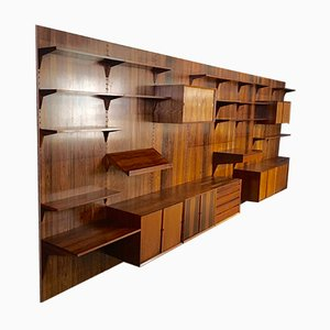 Royal System Wall Unit in Rio-Palisander by Poul Cadovius for Cado