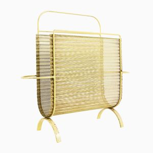 Mid-Century Modern French Harpers Magazine Holder by Mathieu Matégot, 1950s