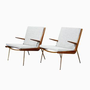 FD-159 Lounge Chairs by Peter Hvidt & Orla Molgaard-Nielsen for France & Søn, 1950s, Set of 2