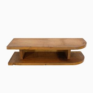 Small Shelf in Solid Oak, 1950s