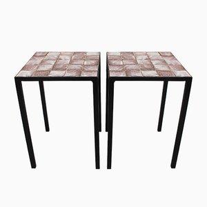 Tavolini di Mado Jolain, anni '50, set di 2