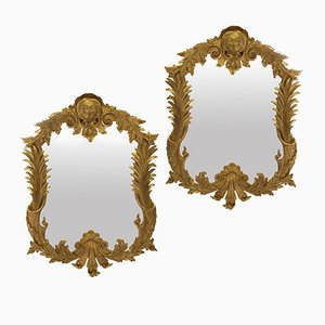 Mid-Century Mirrors, Set of 2