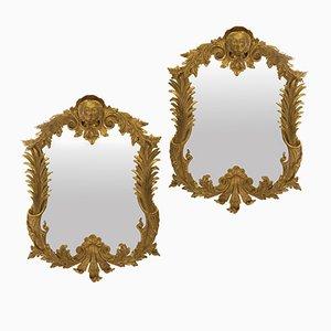 Specchi Mid-Century, set di 2