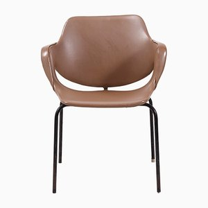 Vintage Side Chair in Leatherette