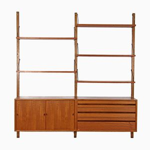 Vintage Royal System Wall Unit in Teak by Poul Cadovius