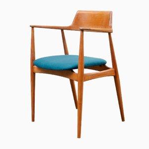 Modell 411 Armlehnstuhl von Hartmut Lohmeier für Wilkhahn, 1950er