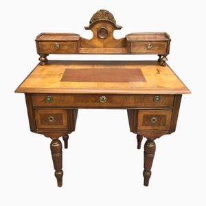 Englischer Schreibtisch aus Mahagoni aus 19. Jhdt.