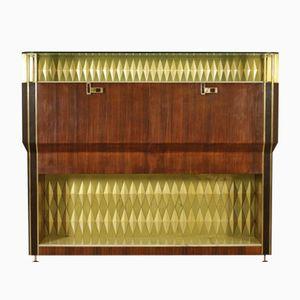 Bar Cabinet by Vittorio Dassi for Consorzio Esposizione Mobili Cantù, 1950s