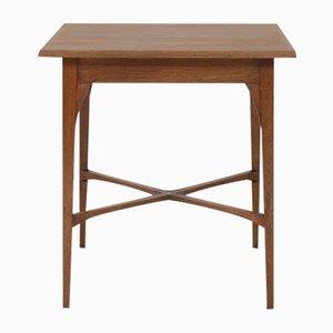 Dutch Oak Arts & Crafts Occasional Table from J.A. Huizinga, 1900s