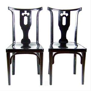 Wiener Stühle von Josef Hoffmann, 1914, 2er Set