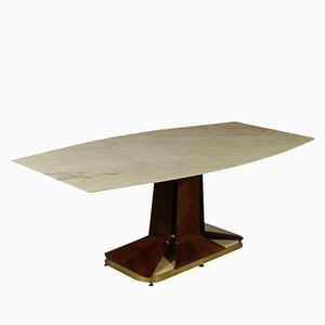 Tavolo di Vittorio Dassi per Consorzio Esposizione Mobili Cantù, anni '50