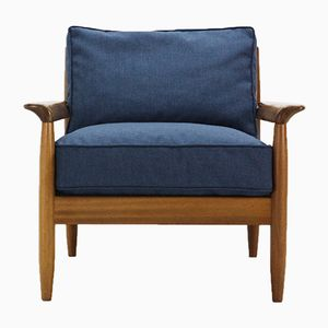 Walnut Easy Chair, 1960s