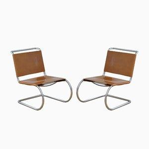 Chaises MR 30 par Ludwig Mies van der Rohe, 1930s, Set de 2