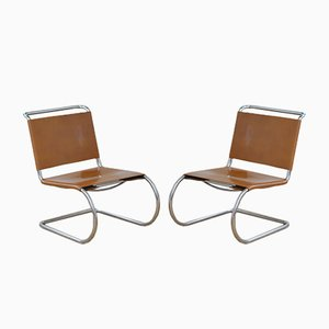 MR 30 Chairs by Ludwig Mies Van De Rohe, 1930s, Set of 2