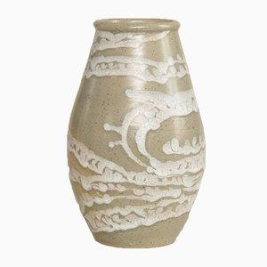 Celadon Vase von René Buthaud für Primavera, 1920er